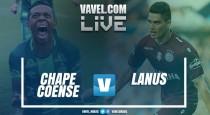 Resultado e gols Chapecoense x Lanús na Libertadores 2017 (1-3)