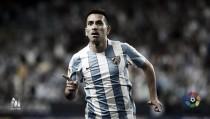 Charles firma un registro de goles histórico en el Málaga CF