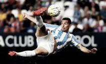 Charles, el hombre gol del Málaga