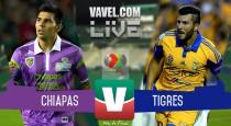 Resultado Jaguares Chiapas vs Tigres en Liga MX 2015 (0-1)