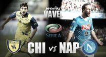 Chievo - Nápoles: choque de rachas en Verona