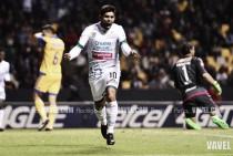 Silvio Romero, motivado por su cuota goleadora