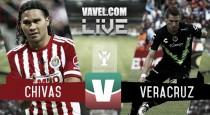 Resultado Chivas vs Veracruz en Supercopa MX (2-0)