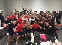 La clasificación del Atlético a la final, desde dentro