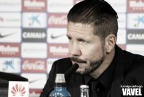"""Simeone: """"Sevilla y Atlético tienen ilusión por competir contra Madrid y Barça"""""""
