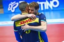 Volley maschile - La Dhl Modena si aggiudica facilmente gara 1 di finale scudetto