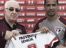 Motivado e visando títulos na temporada, meia Cícero é apresentado pelo São Paulo