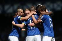El Everton golea al descendido Norwich para acabar la temporada