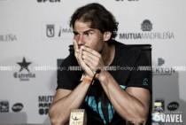 """Rafael Nadal: """"No tengo previsto jugar hasta que esté recuperado"""""""