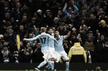 Manchester City (4) 3-1 (3) Everton: Agüero influential as Citizens reach Cup final