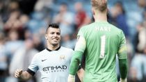 Manchester City pair confirm award double