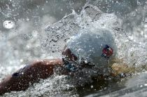 Kazan 2015, Nuoto di fondo: 10 km maschile a Wilmovsky, Ruffini settimo