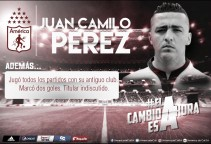 Camilo Pérez, nuevo jugador del América de Cali