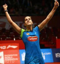 Carolina Marín se asegura la medalla de bronce