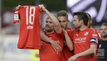 SV Sandhausen 1-3 Arminia Bielefeld: Voglsammer lifts Bielefeld out of bottom three