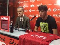"""Guarrotxena: """"El Mirandés es un club ambicioso con el objetivo de ascender"""""""