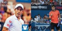 Risultato Nishikori - Dimitrov diretta, LIVE ATP 250 Brisbane -Trionfa Dimitrov!(1-2)