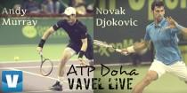 Risultato Murray - Djokovic diretta, LIVE ATP 250 Doha (1-2) -Trionfa Djokovic
