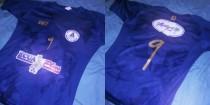 Unlu y su nueva camiseta