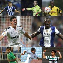 Ocho colombianos convocados para la segunda fecha de la UEFA Champions League