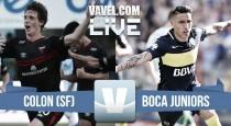 Resultado de Colón- Boca Juniors (1-2)