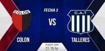 Resultado Colón vs Talleres por el Torneo Primera División 2016/2017 (1-0)