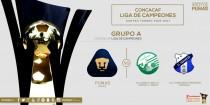 Pumas, al Grupo A de la Concachampions