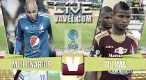 Resultado Millonarios 0-3 Tolima por Copa Águila 2016