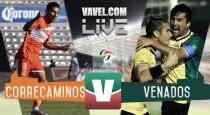 Correcaminos vs Venados en vivo online en Ascenso MX 2016 (0-0)