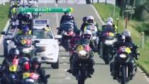 Cyclisme : les motos suiveuses dans le collimateur