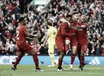 Liverpool (3) 3-0 (1) Villarreal: Anfield crowd roars Reds into Europa League final