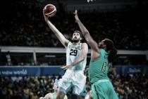 Em jogo de duas prorrogações, Brasil perde para Argentina e se complica no basquete masculino