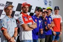 Brno, la conferenza stampa dei piloti MotoGP