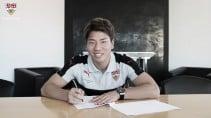 Arsenal forwardTakuma Asano joins VfB Stuttgart on loan