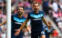 Stupendo Stuani, il Middlesbrough batte il Sunderland nel derby del nordest (1-2)