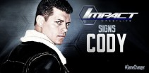 Cody Rhodes to Debut for TNA at Bound for Glory