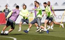 Cristiano completa el entrenamiento y apunta al City