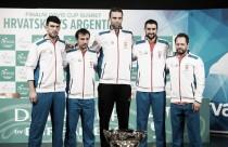 Croácia faz substituição de última hora para a final da Copa Davis