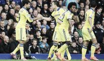 El Chelsea se da un festín en Goodison Park