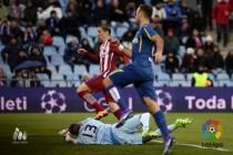 El Getafe choca con la muralla del Atlético