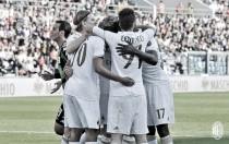 El Milan suda la gota gorda para triunfar en el MAPEI Stadium