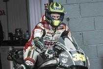 "Cal Crutchlow: ""Me he sentido muy feliz pilotando la LCR Honda esta semana"""