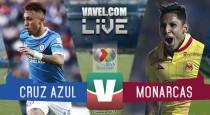 Resultado y videos de Cruz Azul 1-1 Morelia en Liga MX 2017