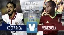 Resultado y goles: Costa Rica 2-1 Venezuela en Amistoso Copa América
