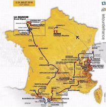 Svelato il percorso del Tour de France 2016. Torna il Mont Ventoux, le Alpi dopo i Pirenei