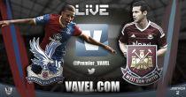 Crystal Palace - West Ham en vivo y en directo online