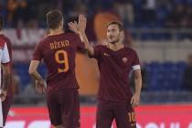 La Roma si diverte: 4-0 al Crotone