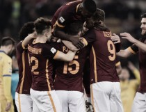 AS Roma 3-1 Frosinone: El Shaarawy fires Spalletti to maiden victory