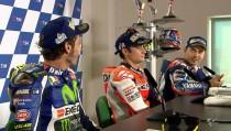 Misano, Rossi-Lorenzo: scintille in conferenza stampa