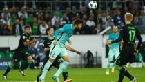 Champions, il Barcellona vince di rimonta: 1-2 a Moenchengladbach